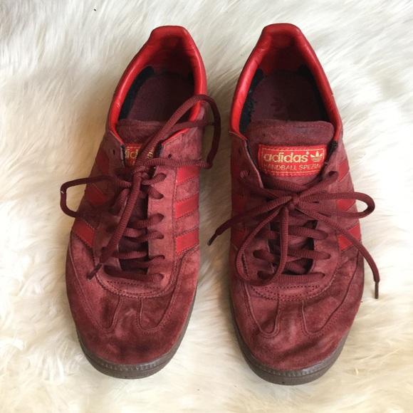 Le Adidas Spezial Marte Rosso Di Pallamano Spezial Formatori Poshmark